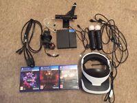 Playsation 4 VR Bundle Including Games - BARELY USED