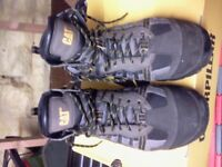 MENS SIZE 7 CATERPILLAR WORKING HIKING BOOTS BROWN, NEW IN BOX £25.00