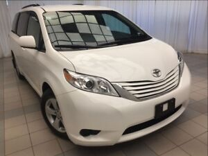 2017 Toyota Sienna LE: From $195 bi-weekly. NO MONEY DOWN!
