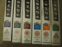 Friends videos series 4 episodes 1-4 5-8 9-12 13-16 17-20 21-23 £5.00
