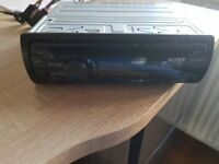 FOR SALE SONY CD PLAYER WITH CLIP OFF FRONT ONLY 6 MONTHS OLD