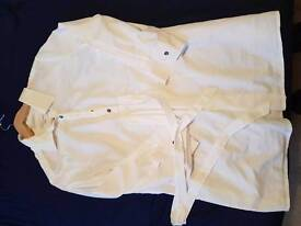 2 maternity blouses sizes 14 and m