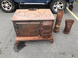 Cast iron stove/range cooker