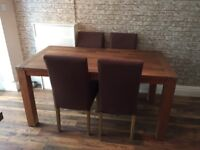 Barker and stonehouse furniture dining table sideboard shelf unit