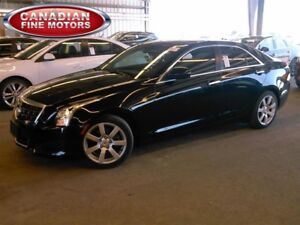2014 Cadillac ATS LEATHER-BLK-BLK