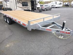 2018 King Trail 102x20 remorque deck over
