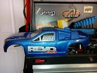 proline revo body thick lexan and jato factory painted body