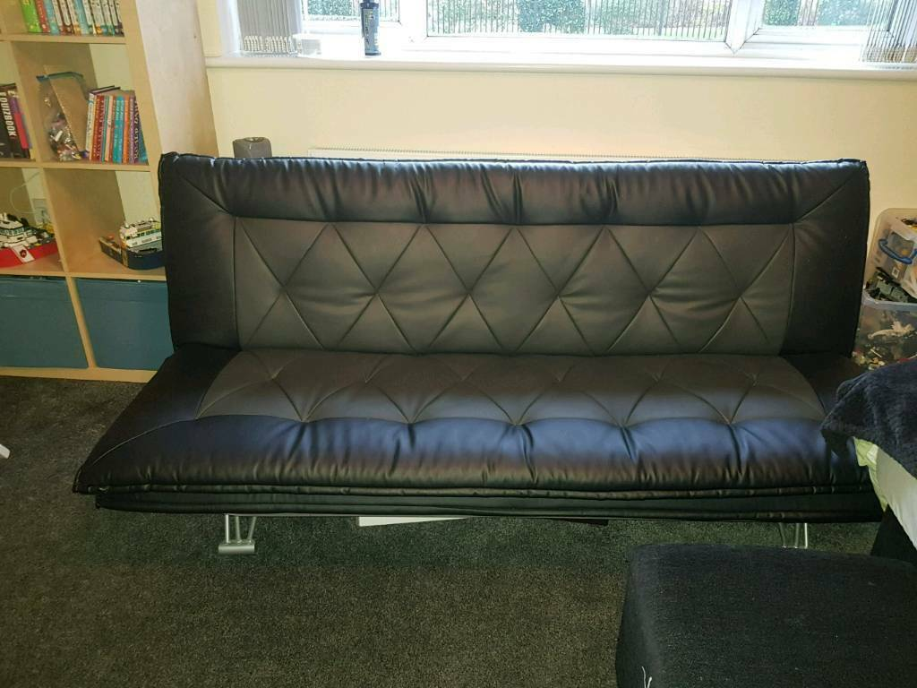 Black And Grey Sofa Bed In Halifax