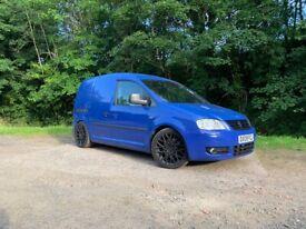 Volkswagen, Caddy, 2.0 TSFI Conversion complete