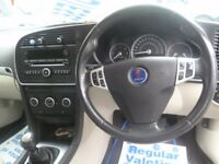 Saab 9-3 Vector Sport DTH,1.9 TID Estate,6 speed manual,FSH,parking sensors,half leather interior