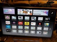 "47"" Panasonic 4k smart tv Wi-Fi camera Bluetooth built-in"