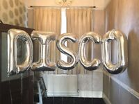 Disco balloons for sale. Ideal for disco or 70s themed party