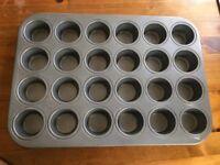 Mini muffin pan, bread pan, brownie pan, baking sheet, pie pan, CorningWare, large pot