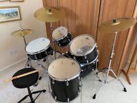 Gretsch Energy GE2 beginner/starter Drum Kit with stool