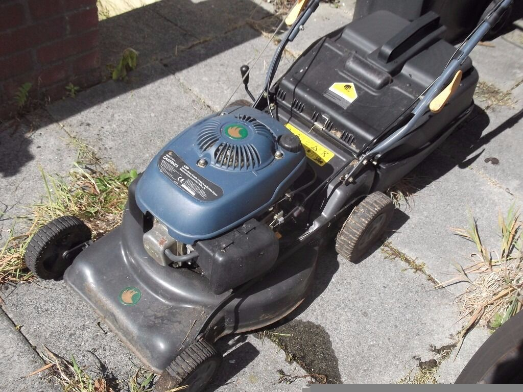 petrol mower ,self propelled 5 5 hp, little used ,non starter ,no
