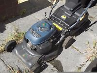 petrol mower ,self propelled 5.5 hp, little used ,non starter ,no spark,turns over ok spares /repa