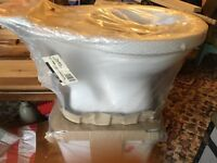 Brand New White Toilet and Cistern.