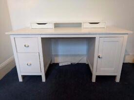Ikea Hemnes Desk (With addon top unit)