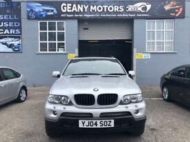 *LPG FACTORY FITTED* LOW MILES 04 FACE-LIFT, BMW X5, 3.0 PETROL WITH LPG, FULL MOT, FSH,*WARRANTY*