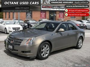 2008 Cadillac CTS 3.6L Accident Free! Leather!