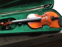 Violin, small size, suitable for a child, 53cm long