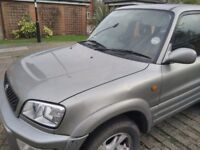 I am selling this toyota Rav 4 for spares or repairs - the timing belt snapped.