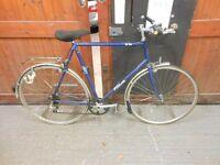 falcon super tourist vintage retro hybrid racer road bike bicycle reynolds 453 25 in wheels