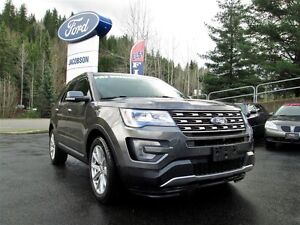 2016 Ford Explorer Limited 4WD - Backup Camera - Leather