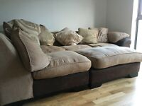 DFS Corner sofa - well used but in good condition.