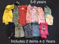 Girls 5-6 Bundle of clothes *