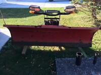 Boss rt-8 straight plow