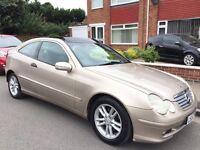 Mercedes-Benz C Class 2.1 C220 CDI SE 2dr £799 diesel - auto 2002 (52 reg), Coupe