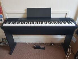 Casio Keyboard Scaled Hammer With Free Accessories (Immaculate)