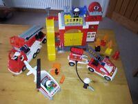 Duplo Lego Fire Station 6168