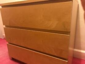 Ikea malm 3 drawers