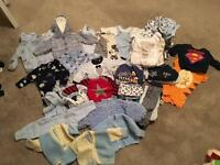 Baby boy 0-3 bundle