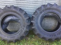 Two tractor tyres (new)