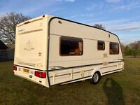 Abbey vogue GTS fixed bed/motor mover/awning/excellent condition