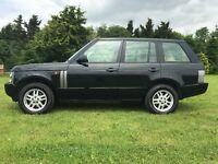 2004 Range Rover Vogue Auto 3.0 TD6 Diesel 86K 12 month MOT Black