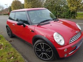 2004 automatic Mini One 1.6 with long MOT only 71000 miles