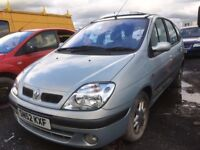 Renault Megane Scenic Diesel 2002 year - Spare Parts Available