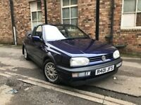 Mk3 VW Golf Avantgarde 2.0 Cabriolet 46k Miles STUNNING Condition Modern Classic Restored Barn Find