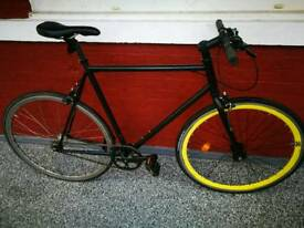 58cm Quella Darwin Single Speed Bike (Receipt & ID)