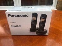 Panasonic KXTGB212EB Twin Handset Digital Cordless Phone