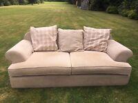 John Lewis Cream/Beige Sofa £150