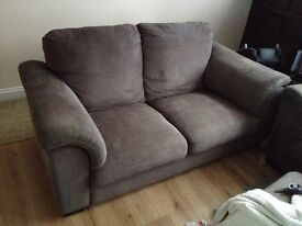 Ikea Tidafors Two Seater Sofa Grey Brown