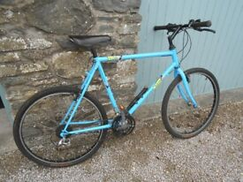 Bicycle: Raleigh Montage, men's hybrid/off-road bike, 21 gears, little used