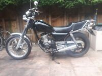 better bt 125cc 125 cc , fully serviced, 11 months mot, low mileage, many new parts