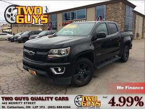 2016 Chevrolet Colorado BLACKOUT PKG 4WD CREW CAB ALLOYS