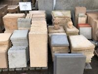 Paving slabs - hand made